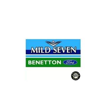 Adesivo Mild Seven Benetton Ford F1 Formula 1 Sticker