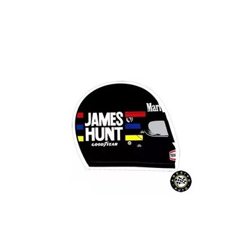 Adesivo Capacete James Hunt F1 Formula 1