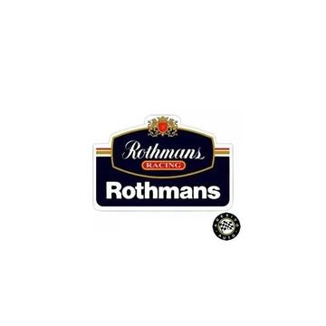 Adesivo Rothmans Racing F1 Formula 1 Pronta Entrega