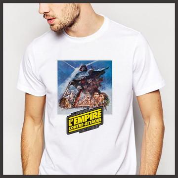 Camiseta Geek Filme O Império Contra Ataca