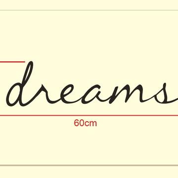 Dreams - Palavra de Parede (arame)