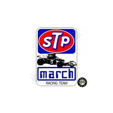 Adesivo STP March Racing Team Ronnie Peterson F1 Formula 1