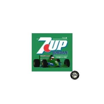 Adesivo 7up Jordan 191 F1 Formula 1 A Pronta Entrega