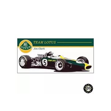 Adesivo Jim Clark Team Lotus 49 1967 F1 Formula 1 Carros