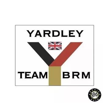 Adesivo Yardley Team Brm F1 Formula 1 A Pronta Entrega