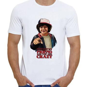 Camiseta Stranger Things Dustin Will Série Netflix