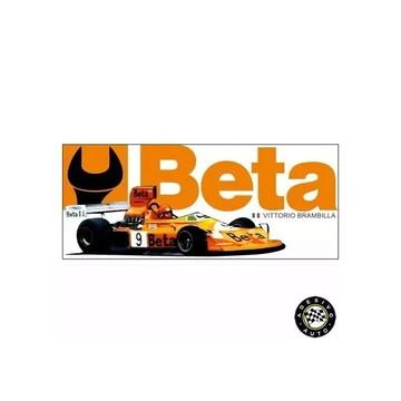 Adesivo Beta Team March Vittorio Brambilla 1975 F1 Formula 1