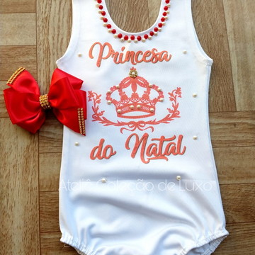 Collant/ body Princesa do Natal