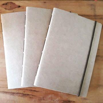 Caderno Capa lisa para decorar - Miolo impresso