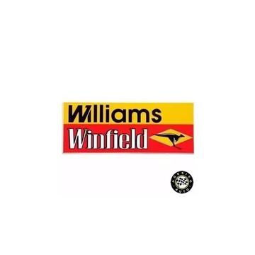 Adesivo Williams Winfield Formula 1 F1 A Pronta Entrega