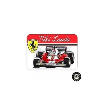 Adesivo Niki Lauda Ferrari 312T2 Rush F1 Formula 1