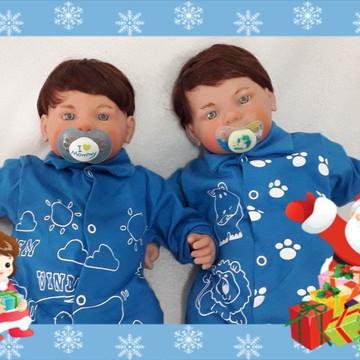 Bebês Reborn gêmeos