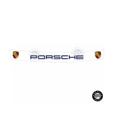 Adesivo Porsche Para Viseira De Capacete A Pronta Entrega