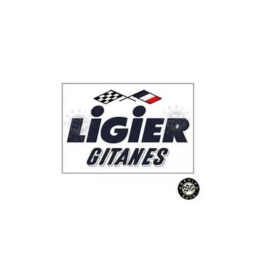 Adesivo Ligier Gitanes F1 Formula 1 A Pronta Entrega
