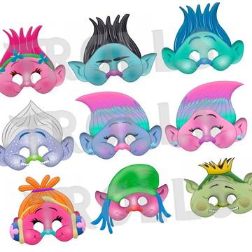 Máscara Trolls