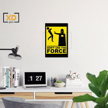 Placa Decorativa Geek Force Jogo Video Game Quarto Sala