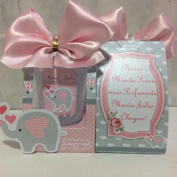 Lembrancinha Maternidade Elefantinha Rosa