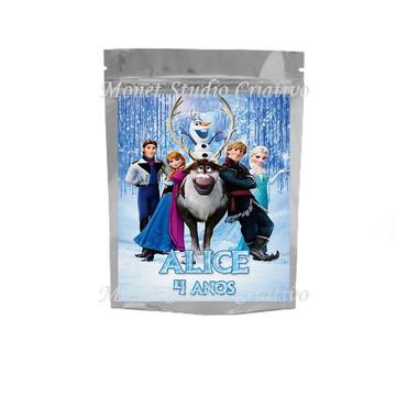 Saquinho Metalizado - Frozen