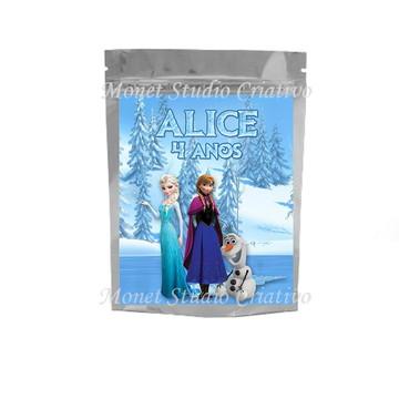 Saquinho Metalizado - Frozen 2