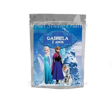 Saquinho Metalizado - Frozen 4