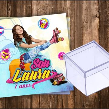 Adesivo para Caixa de acrílico Soy Luna