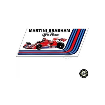 Adesivo Martini Racing Brabham BT45 F1 Formula 1