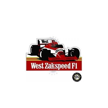 Adesivo West Zakspeed 841 F1 1985 Formula 1