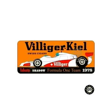 Adesivo Shadow DN9 Villiger-kiel 1978 F1 Formula 1