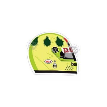 Adesivo Christian Fittipaldi Capacete F1 Formula 1