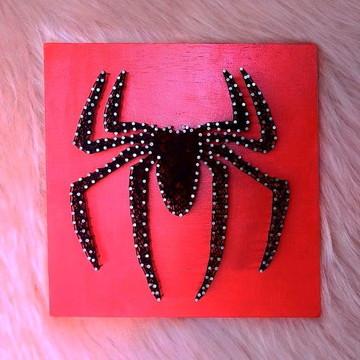 Quadro Spider Man String Art Geek