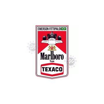 Adesivo Marlboro Team Texaco Fittipaldi F1 Formula 1