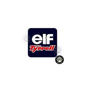 Adesivo Elf Team Tyrrell Azul F1 Formula 1