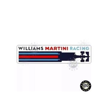 Adesivo Williams Martini Racing Formula 1 Car Pronta Entrega