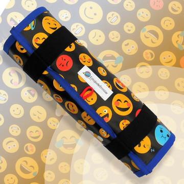 Estojo De Enrolar Estampa Smiles Emoji (M)