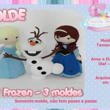 Molde- Coleção Frozen