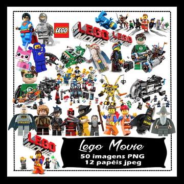 Kit Scrapbook Digital Lego vingadores