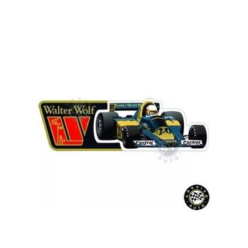 Adesivo Jody Scheckter Wolf Wr3 1977 F1 Formula 1