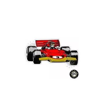 Adesivo Jochen Rindt Lotus 72 F1 Formula 1 1970 Carros