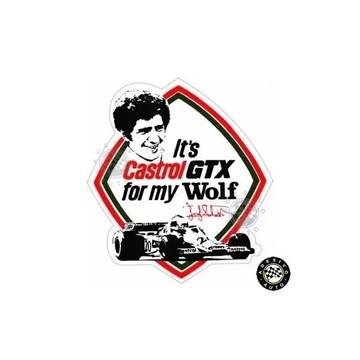 Adesivo Castrol Wolf Jody Scheckter F1 Formula 1