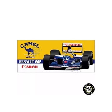 Adesivo Camel Williams Fw14 Nigel Mansell F1 Formula 1 1991