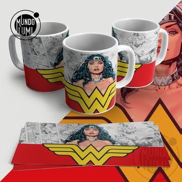 Caneca Mulher Maravilha Wonder Woman