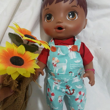 Roupas Baby alive menino