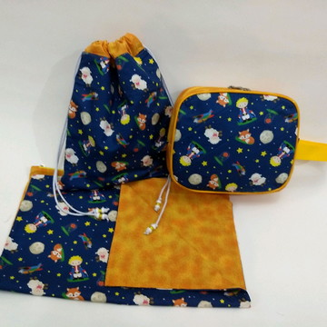 Kit higiene escolar organizadores kit creche