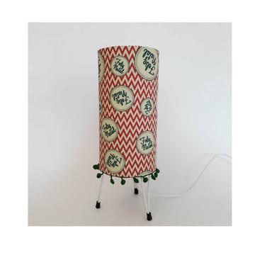 Lanterna de Natal Chevron Vermelho - PQ