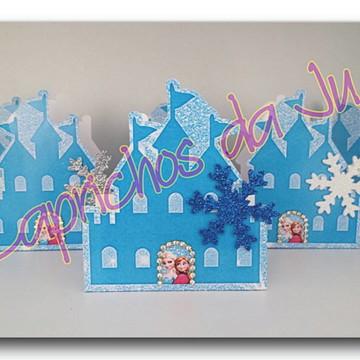 Castelo Frozen - Imprima e corte