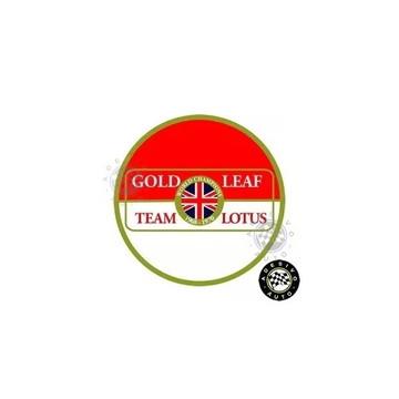 Adesivo Gold Leaf Team Lotus Circulo F1 Formula 1