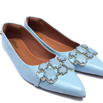 edfe04717f Sapatilha Feminina Azul Claro Calçados Femininos