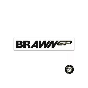 Adesivo Brawn GP F1 Formula 1 Team A Pronta Entrega