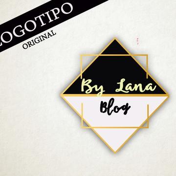 Logomarca para Blog e lojas Dourado