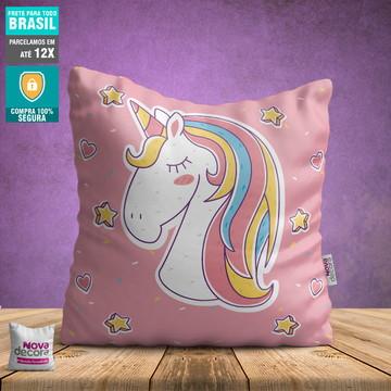 Almofadas Unicornios | Tamanho 30x30 | AL00007UNI